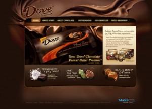 Dove 300x215 チョコレート・デザイン(24つのおいしいデザインサンプル付き)